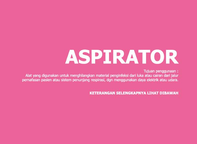 Aspirator (Alat Kesehatan)