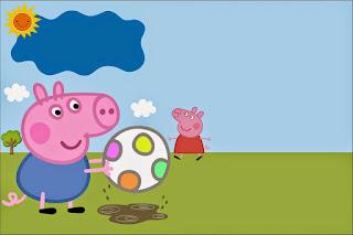 George Pig Playing Free Printable Kit.