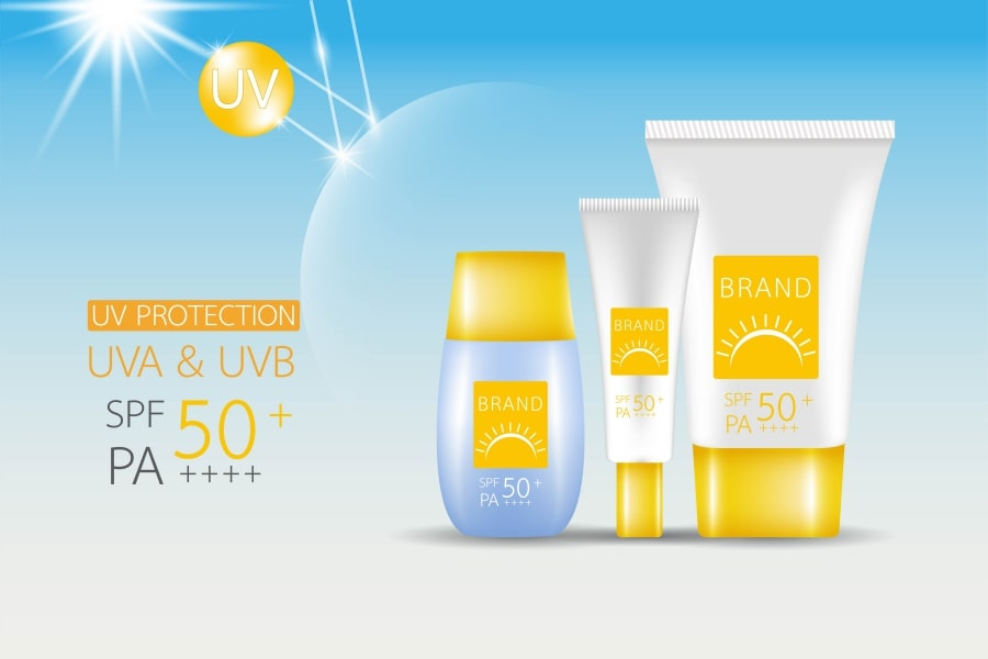 Sun-protection beauty products