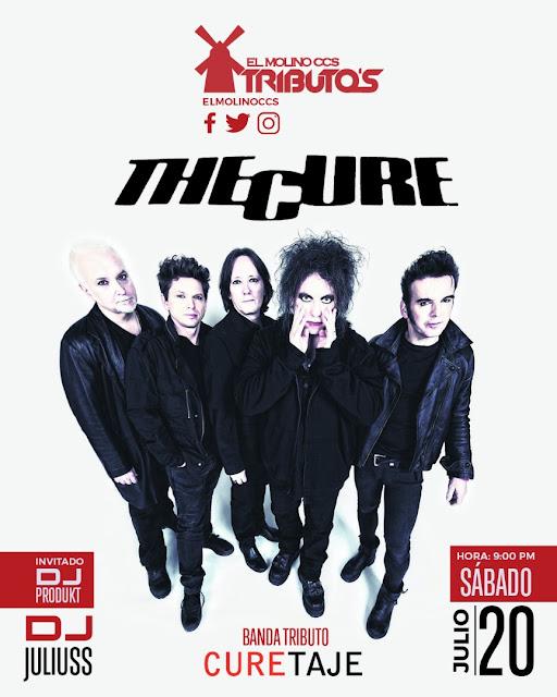 MÚSICA URBANA: Curetaje en vivo en El Molino Rojo este sábado y 16 de agosto con su set post-punk inglés en Caracas.