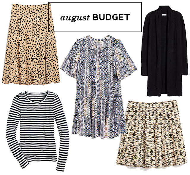 What I bought in August - pretty pre-fall pieces
