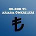 20000 TL Araba Önerileri | Nisan 2020
