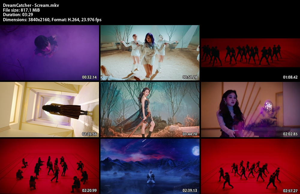 DreamCatcher , Scream , Bugs,, 1080p , Kpop, 2020