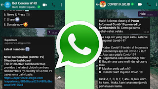 Bot Whatsapp Corona