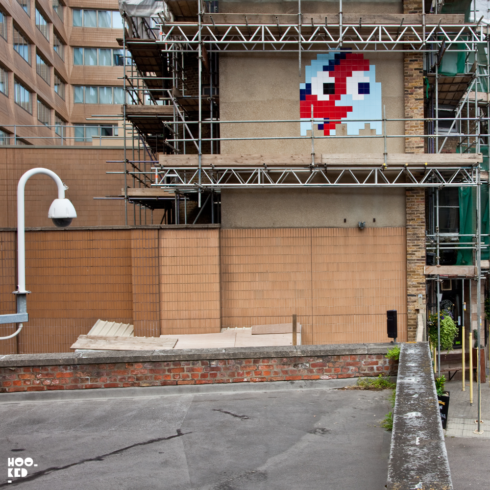 French Street Artist Invader Invades London