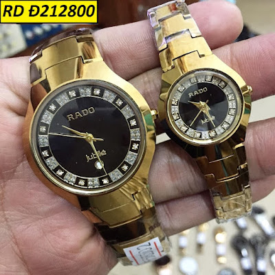Đồng hồ cặp đôi thiết kế hiện đại kiểu dáng tinh tế quyền quý