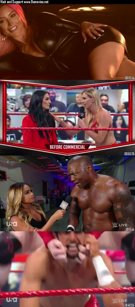 WWE Monday Night Raw 03 May 2021 HDTV 720p 480p 500MB