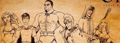 Personagens Quando nerds encontram orcs