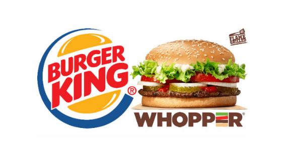 Ganhe um Whooper da Burger King