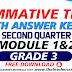 Summative Test GRADE 3 Q2
