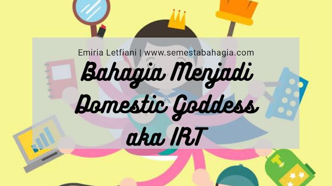 Bahagia Menjadi Domestic Goddess aka IRT