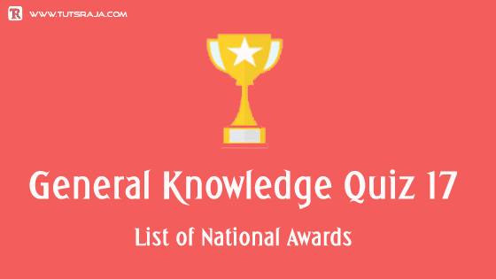 List of National Awards