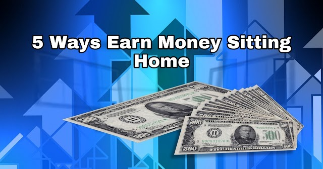 5 Ways to form Money Online From Home Internet