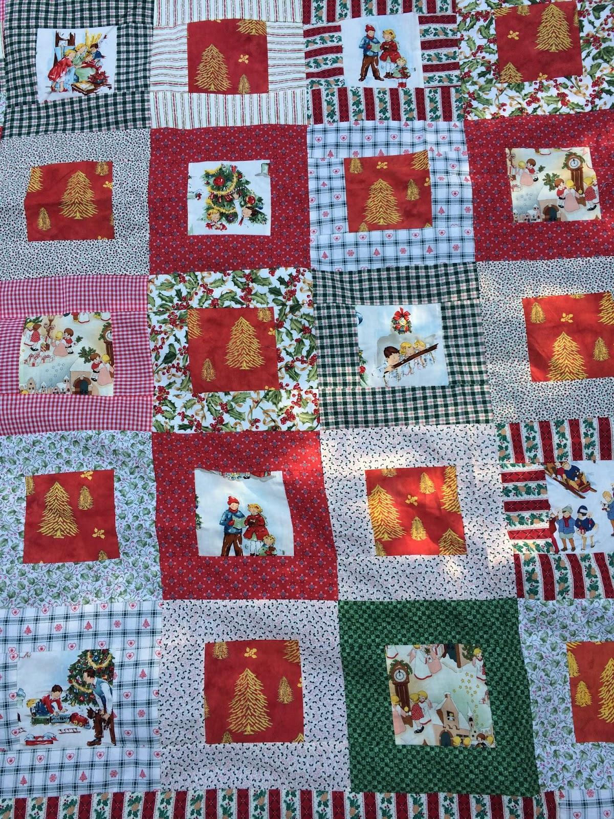 christmas quilt : vintage christmas quilt - Adamdwight.com