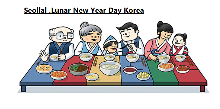Seollal - Lunar New Year Day - Korea