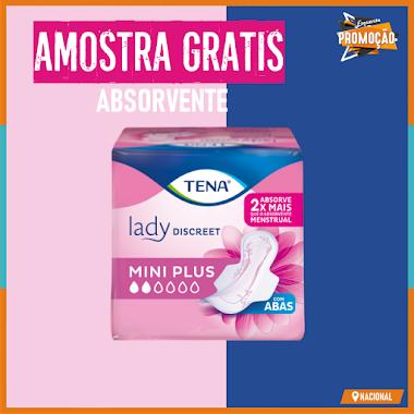 Amostras Grátis | Absorvente TENA Lady Discreet