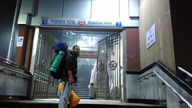badkal mor metro station