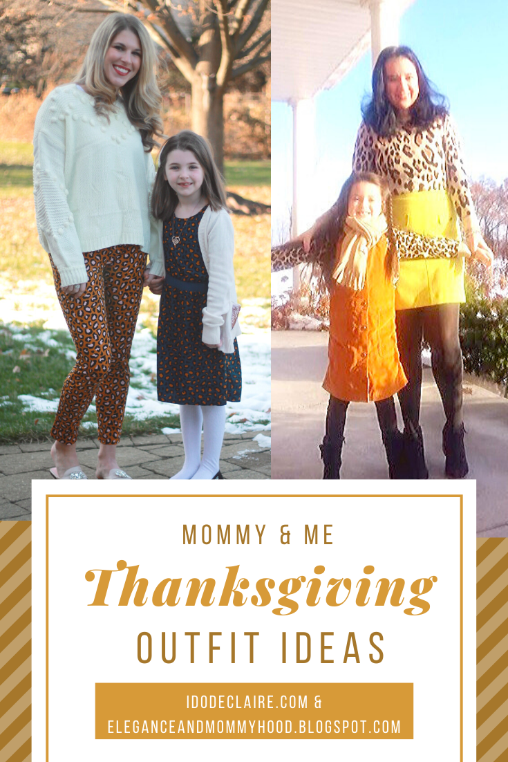 Mommy & Me Thanksgiving Outfits