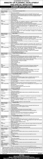 ministry-of-planning-development-jobs-2020-www-pc-gov-pk