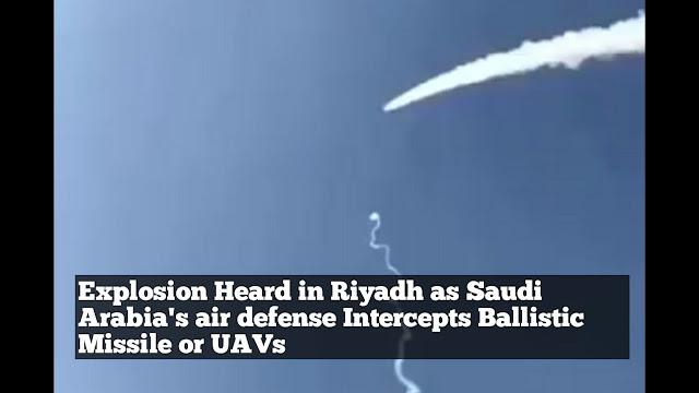 Ada Ledakan Keras di Riyadh, Arab Diserang?