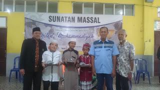 107 Tahun Milad Muhammadiyah Arutmin Gelar Sunatan massal