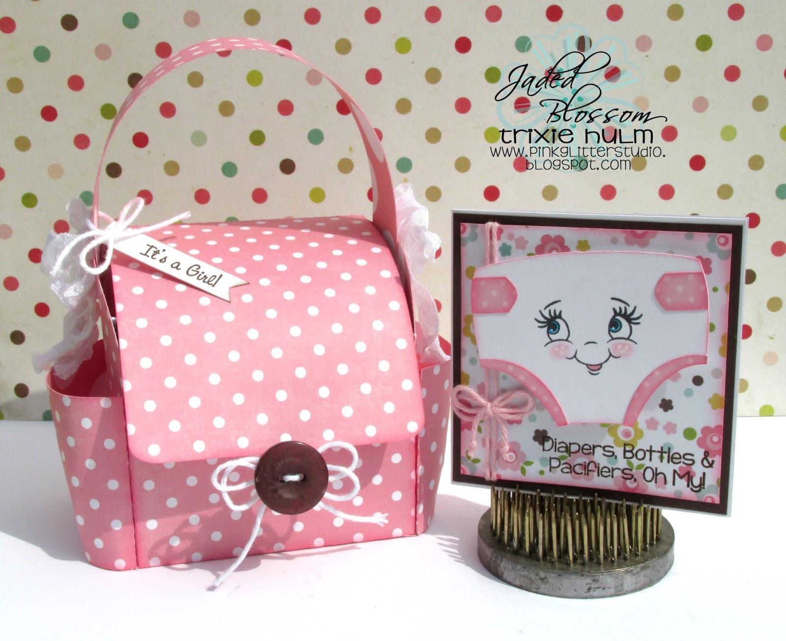 Pink Glitter Studio Jaded Blossom August Stamp Release