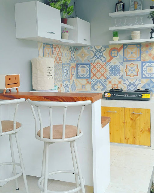desain rumah vintage 60m