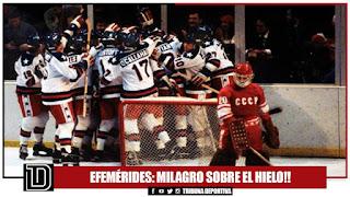 EEUU vs La Unión Soviética (Hockey) - Efemérides TD