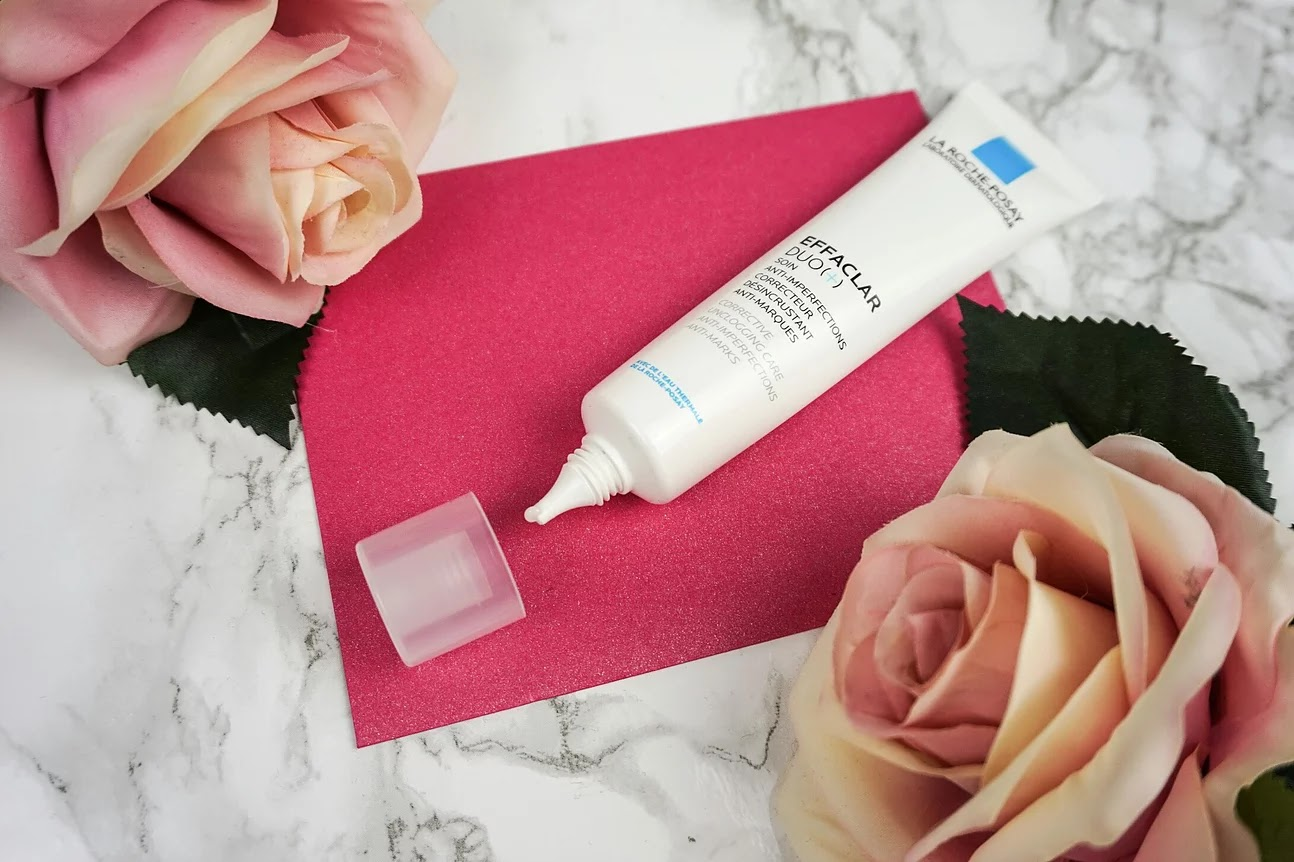 La Roche Posay effaclar duo cream open tube