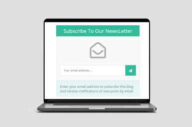 Simple powerful email box for blogger