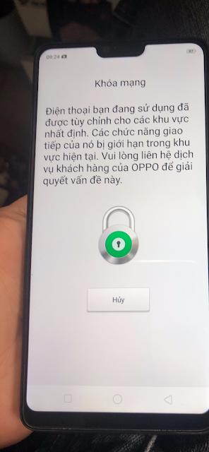 Oppo A3 (CPH1837) Network Unlock