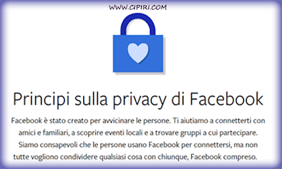 Privacy violata su Facebook