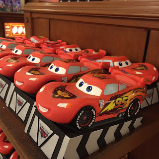 disney main street Emporium gift shop lightning mcqueen bank
