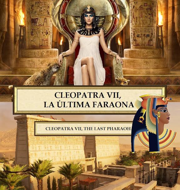 Julio César y Cleopatra. Egipto. Cleopatra VII.