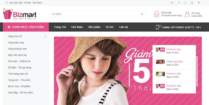 Chia sẻ mẫu blogspot bán hàng đẹp chuẩn seo