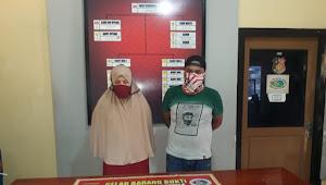 Miliki Shabu Pria dan Wanita Ini Ditangkap Sat Resnarkoba Dalam Kamar Kos