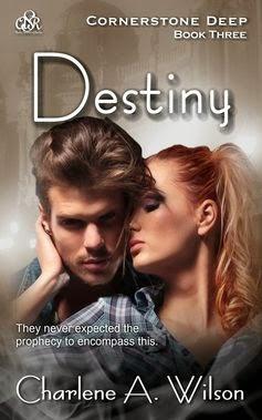 destiny, cornerstone deep, charlene a. wilson, fantasy romance novel