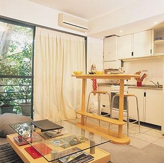 Departamentos peque os cocinas modernass for Cortinas departamentos pequenos