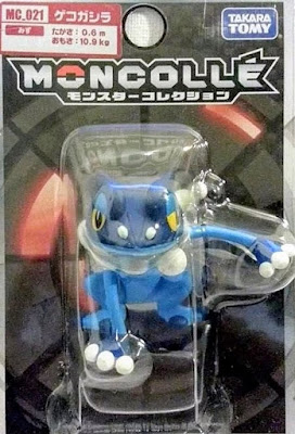 Frogadier figure Takara Tomy Monster Collection MONCOLLE MC series