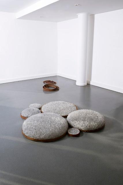 art textile contemporain, art fil de métal