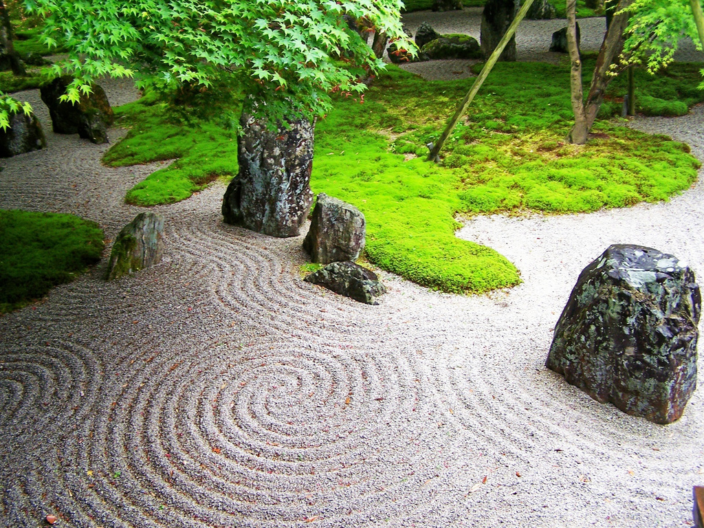 Thoughts on architecture and urbanism from the zen garden - How to make a japanese rock garden ...