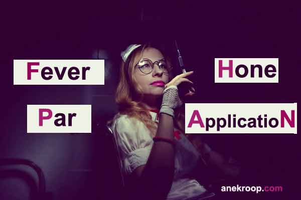 fever hone par application