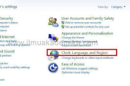 Gampang! Cara Mengubah Keyboard ke Bahasa Arab Windows 7