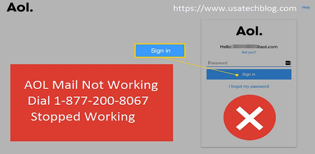aol%2Bmail%2Bnot%2Bworking Why is AOL Mail Not Working and How to Fix it?
