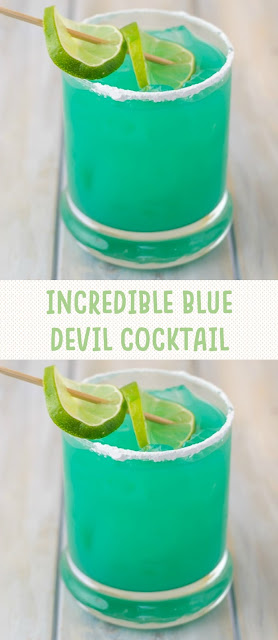 INCREDIBLE BLUE DEVIL COCKTAIL