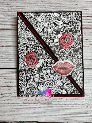 Fun Fold Card Making Tutorial using True Love and Hearts & Kisses suite GettingCrafty.net