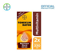 Tonikum Bayer Multivitamin 330ml x 2 Unit