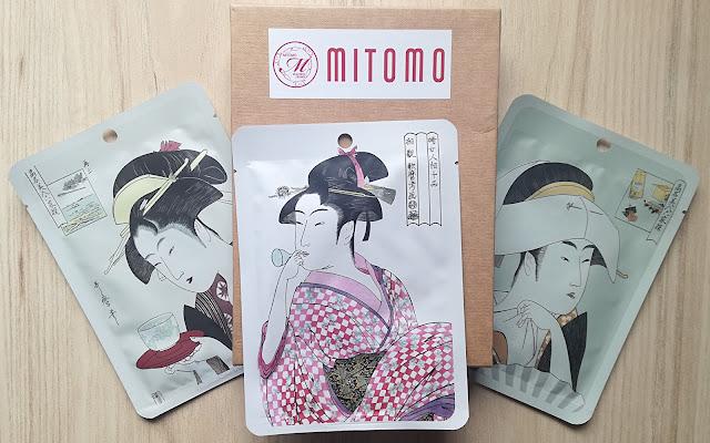 Maska z Kolekcji Ukiyo-e Mitomo - Czytaj więcej