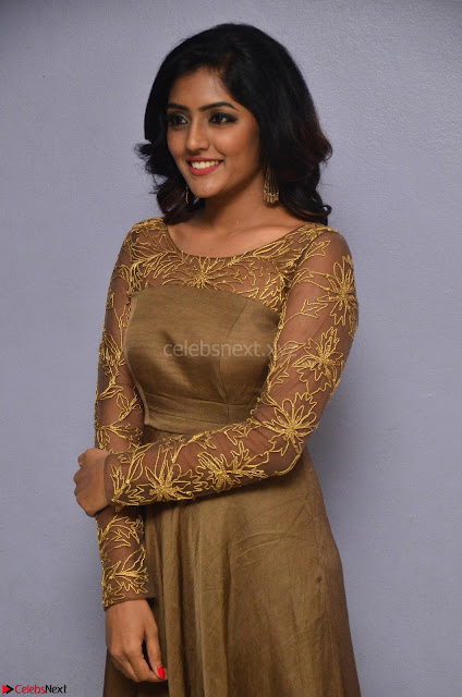 Eesha looks super cute in Beig Anarkali Dress at Maya Mall pre release function ~ Celebrities Exclusive Galleries 002.JPG
