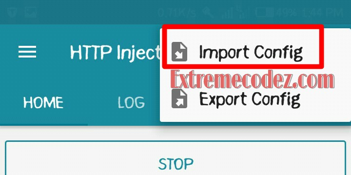 Ehi http injector | HTTP Injector Ehi Config File & Settings For MTN